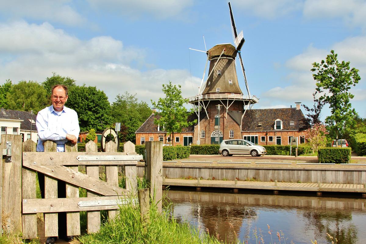 Olav Reijers - molen Woldzigt in Roderwolde