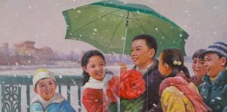Kim Chol-won, Een februari-ochtend, 2003, olieverf op doek collectie Ronald de Groen
