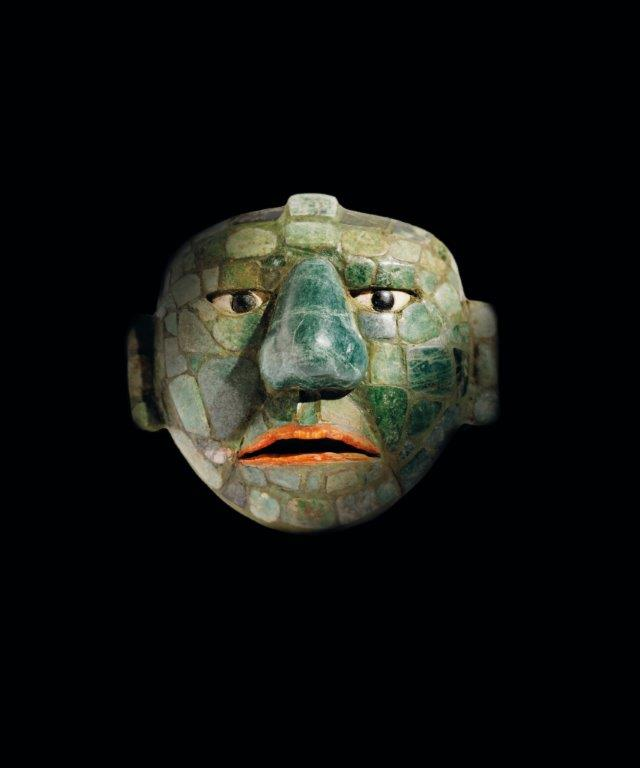 Jade masker Drents Museum