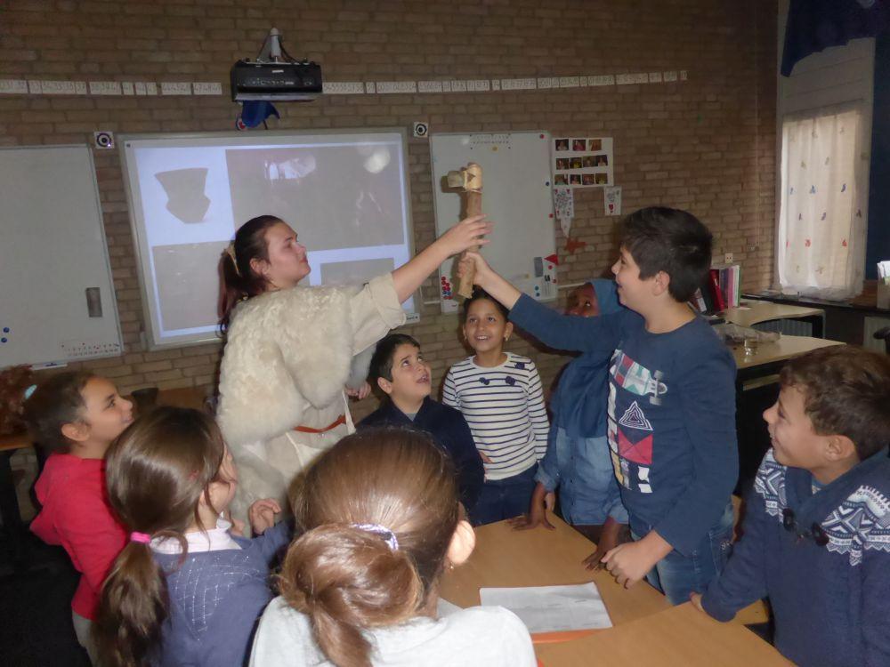 Archeologieles -AZC-De-Smeltkroes-Aalden