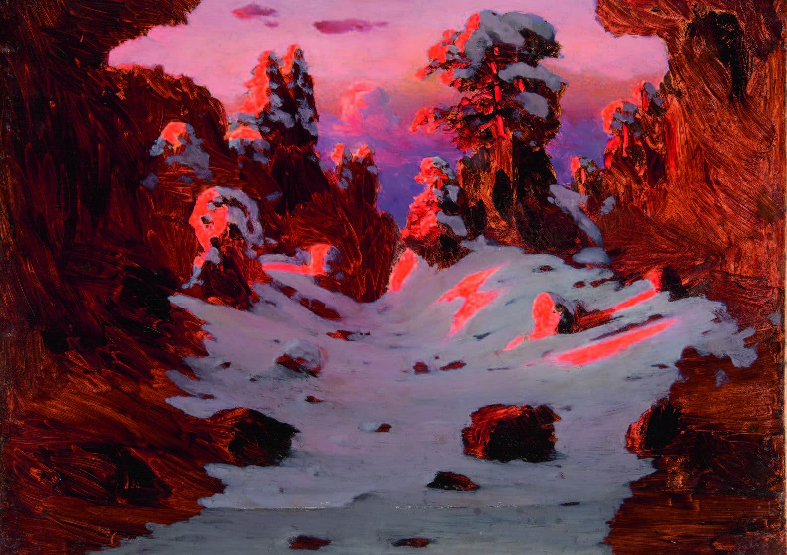arkhip-kuindzhi-effect-van-een-zonsondergang