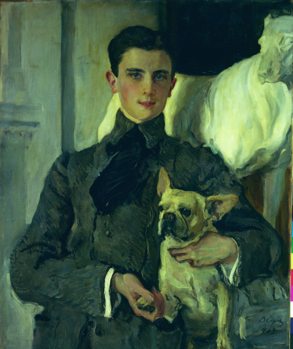 Valentin Serov (1865-1911), Portret van graaf Feliks Feliksovich Sumarokov-Elston (1887-1967), 1903, Staats Russisch Museum, St. Petersburg